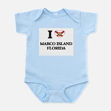 I love Marco Island Florida Body Suit