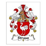 Straus Family Crest  Small Poster