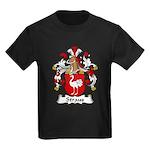 Straus Family Crest  Kids Dark T-Shirt