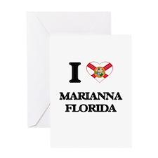 I love Marianna Florida Greeting Cards