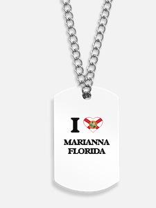 I love Marianna Florida Dog Tags