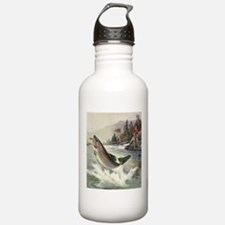 Vintage Fishing, Rainb Sports Water Bottle