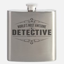 Worlds Most Awesome Detective Flask