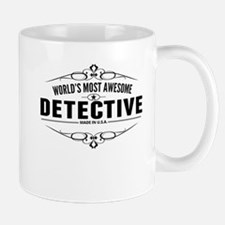 Worlds Most Awesome Detective Mugs