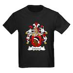 Stossel Family Crest Kids Dark T-Shirt