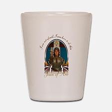 Joan of Arc Nouveau Shot Glass