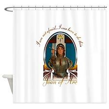 Joan of Arc Nouveau Shower Curtain