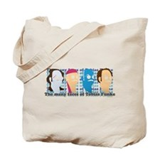 Many Faces of Tobias Tote Bag