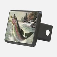Vintage Fishing, Rainbow T Hitch Cover