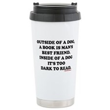 OUTSIDE OF A DOG, A BOO Travel Mug