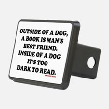 OUTSIDE OF A DOG, A BOOK I Hitch Cover