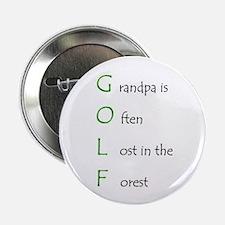 """Grandpa Golf 2.25"""" Button (100 pack)"""