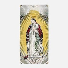 Our Lady of Guadalupe Beach Towel