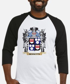 Bennetts Coat of Arms - Family Cre Baseball Jersey