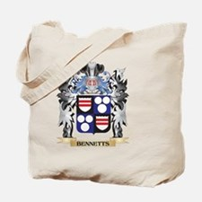 Bennetts Coat of Arms - Family Crest Tote Bag