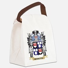 Bennetts Coat of Arms - Family Cr Canvas Lunch Bag