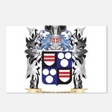 Bennetts Coat of Arms - F Postcards (Package of 8)