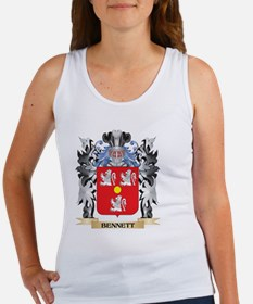 Bennett Coat of Arms - Family Crest Tank Top