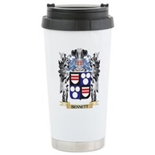 Bennett Coat of Arms - Travel Coffee Mug