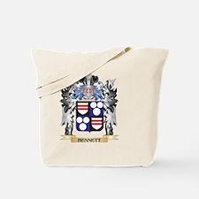 Bennett Coat of Arms - Family Crest Tote Bag