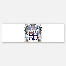 Bennett Coat of Arms - Family Crest Bumper Bumper Bumper Sticker