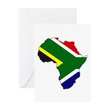 SA Africa Greeting Cards