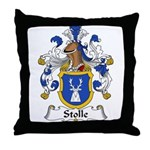 Stolle Family Crest Throw Pillow