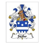 Stohr Family Crest  Small Poster