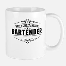 Worlds Most Awesome Bartender Mugs