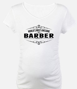 Worlds Most Awesome Barber Shirt