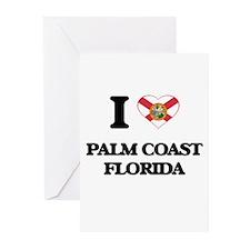 I love Palm Coast Florida Greeting Cards