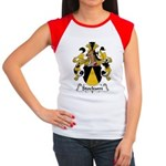 Stockum Family Crest Women's Cap Sleeve T-Shirt
