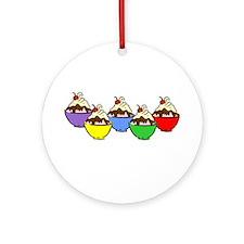 Sundaes Ornament (Round)