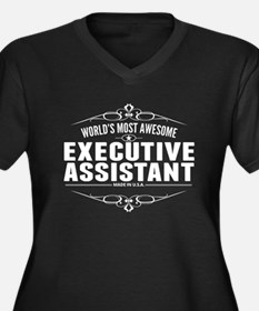 Worlds Most Awesome Executive Assistant Plus Size