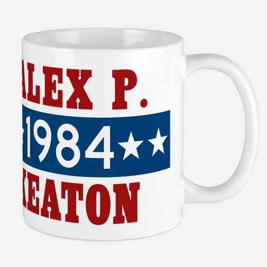 Vote Alex P Keaton 1984 Mug