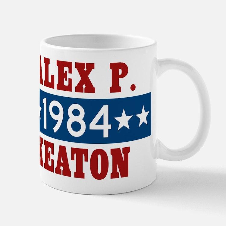Vote Alex P Keaton 1984 Mug