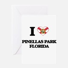 I love Pinellas Park Florida Greeting Cards