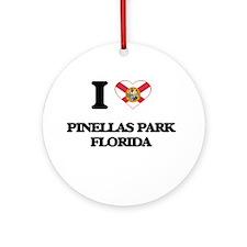 I love Pinellas Park Florida Ornament (Round)