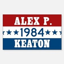 Vote Alex P Keaton 1984 Decal