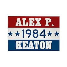 Vote Alex P Keaton 1984 Rectangle Magnet