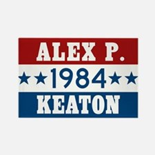 Vote Alex P Keaton 1984 Rectangle Magnet