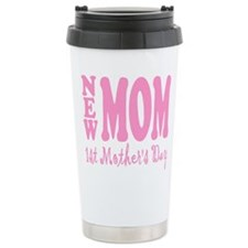 Cute Moms first mothers day Travel Mug