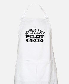 World's Best Pilot and Dad Apron