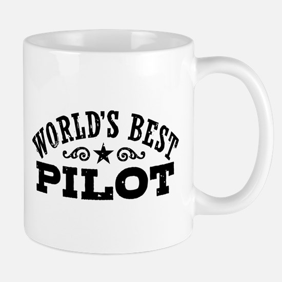 World's Best Pilot and Dad Mug