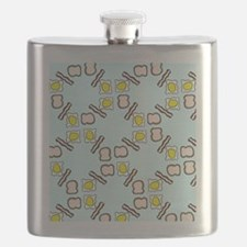 Breakfast pattern Flask
