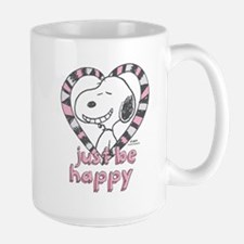 Snoopy Just Be Happy Mugs