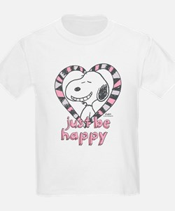 Snoopy Just Be Happy T-Shirt