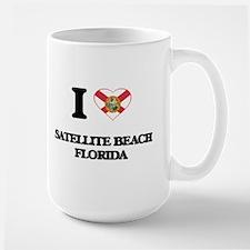 I love Satellite Beach Florida Mugs