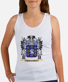 Bergeret Coat of Arms - Family Crest Tank Top