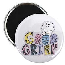 Charlie Brown Good Grief Magnets
